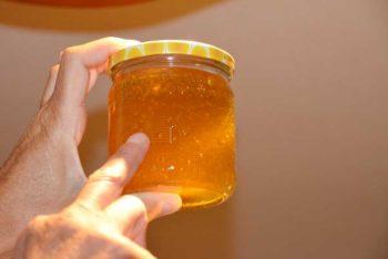 Unser erster selbstgemachter Honig
