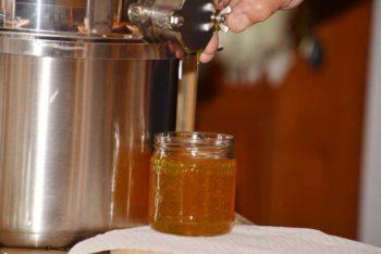 Honig-Abfüllung